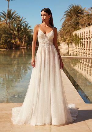Demetrios 1082 A-Line Wedding Dress