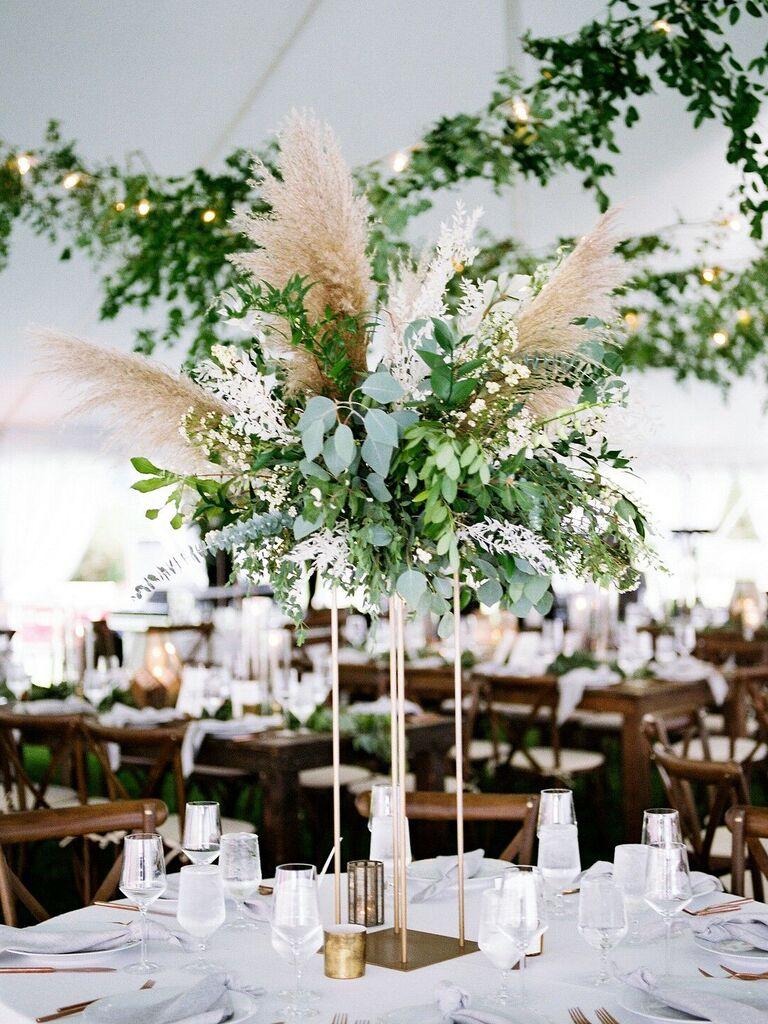 Wedding Centerpieces Tall Pampas Grass