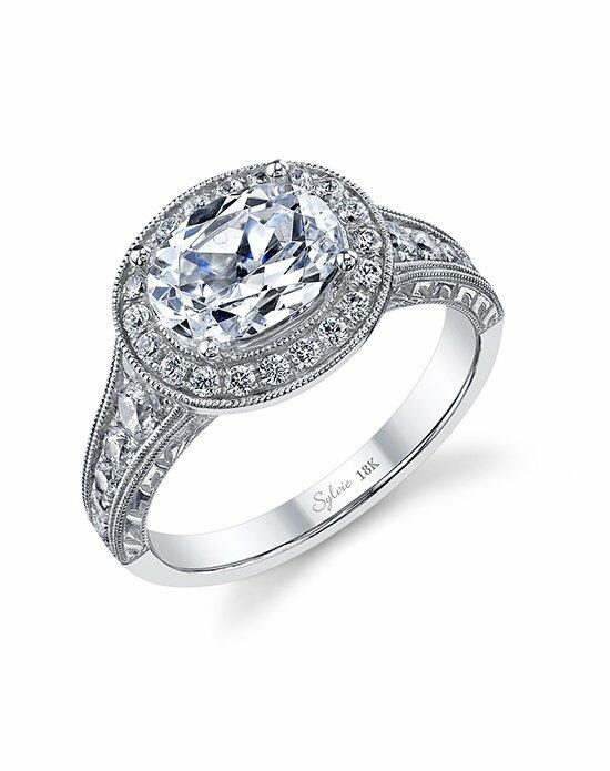 Sylvie Collection SY978 Engagement Ring photo