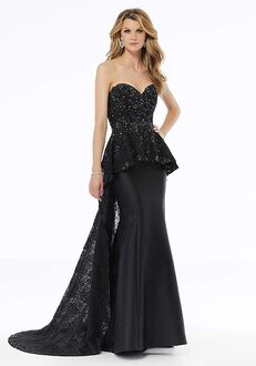 MGNY 72101 Black,Champagne,Gray Mother Of The Bride Dress