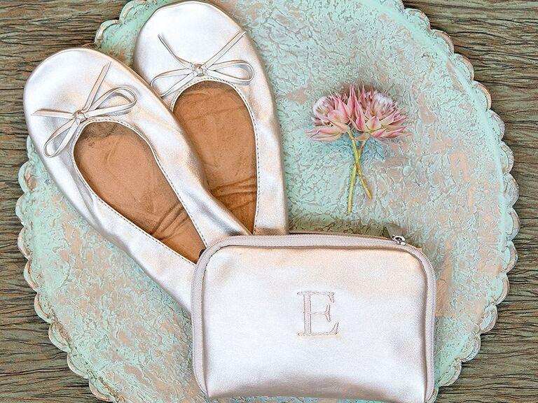 Foldable flats pocket shoes