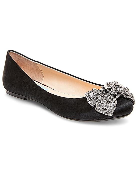 Blue by Betsey Johnson SB-EVER-black Wedding Shoes photo