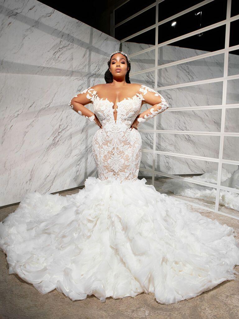 ese azenabor wedding dress