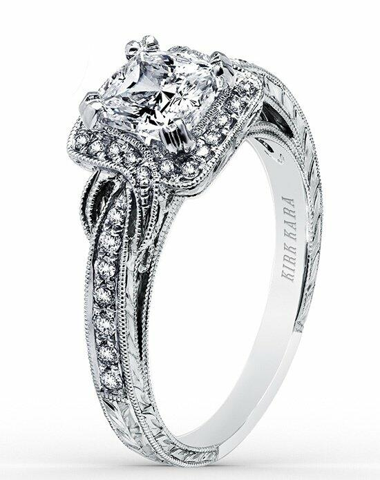 Kirk Kara Pirouetta Collection K150C6S Engagement Ring photo