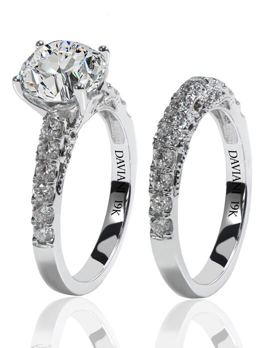 Daviani Love Links Collection DCR1161 Wedding Ring photo