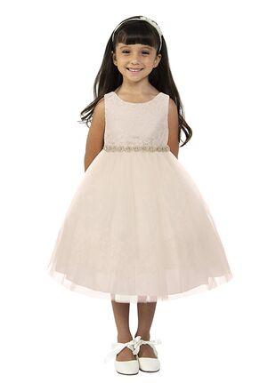 Kid's Dream 456 Ivory,White Flower Girl Dress