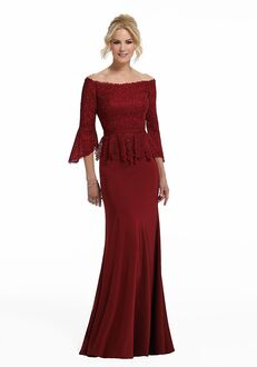 MGNY 72005 Red,Champagne,Gray,Silver Mother Of The Bride Dress
