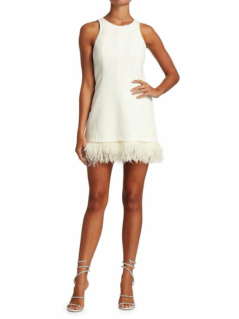 Saks reception dress