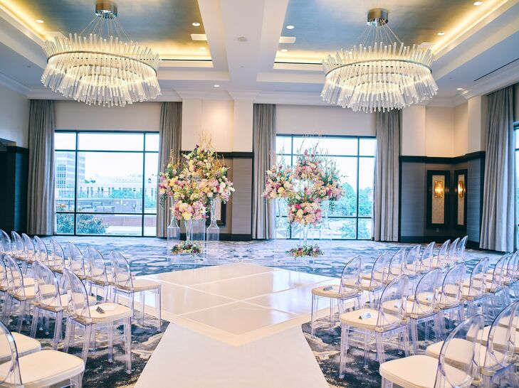 Ballroom Ceremony at Post Oak Hotel at Uptown in Houston, Texas