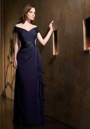 Jade Mother of the Bride by Jasmine J1161 Blue Mother Of The Bride Dress