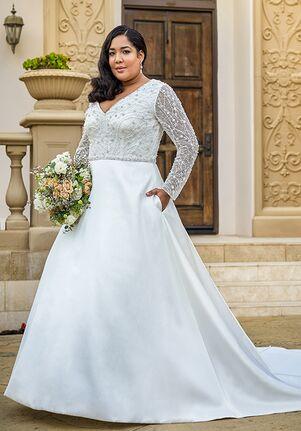 Jasmine Couture T222056N A-Line Wedding Dress