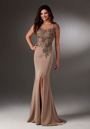 MGNY 71511 Brown,Pink Mother Of The Bride Dress