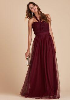 Birdy Grey Christina Convertible Dress in Cabernet Strapless Bridesmaid Dress