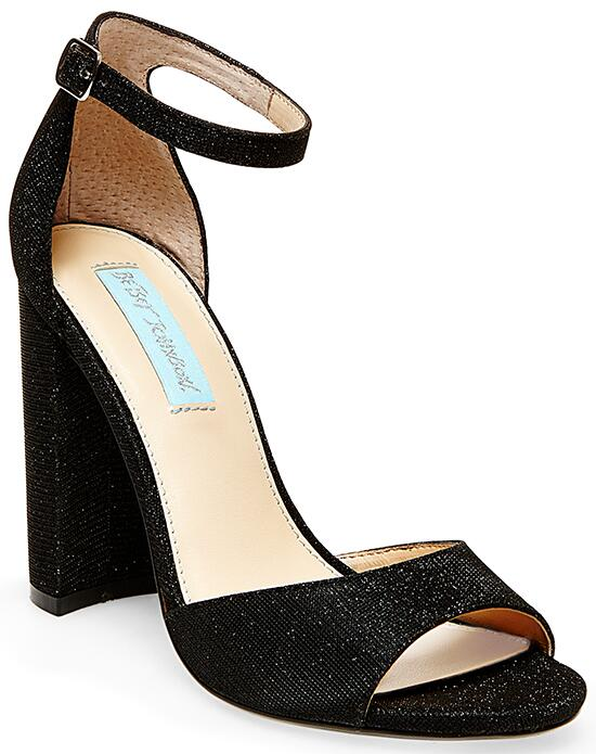 Blue by Betsey Johnson SB-CARLY-black Wedding Shoes photo