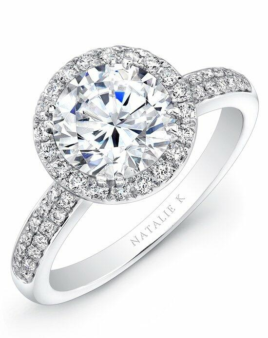 Natalie K Eternelle Collection - NK27158-18W Engagement Ring photo