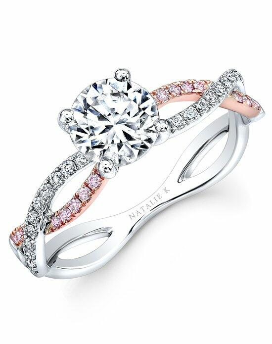 Natalie K Le Rosè Collection - NK32784AZD-WR Engagement Ring photo