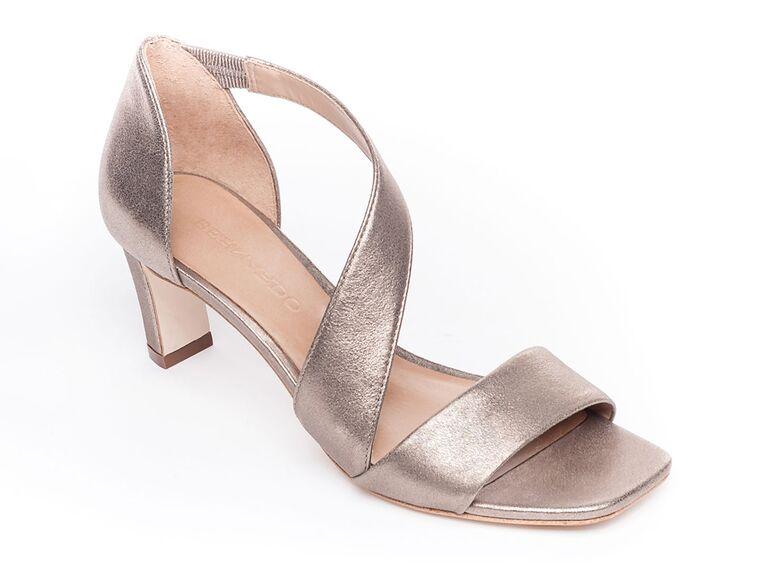 neiman marcus metallic mother of the groom sandals