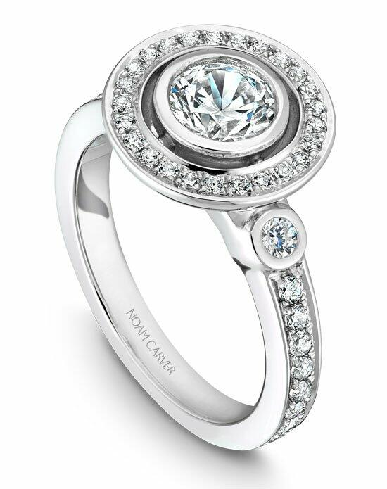 Noam Carver B010-01WS-100A Engagement Ring photo
