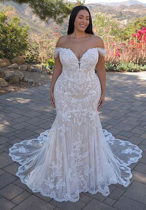 ÉLYSÉE Evangeline Mermaid Wedding Dress