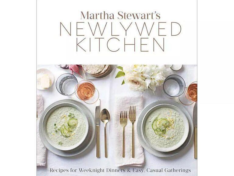 Martha Stewart's Newlywed Kitchen cookbook cover