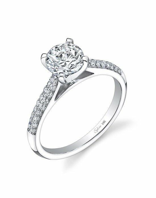 Sylvie Collection SY768 Engagement Ring photo