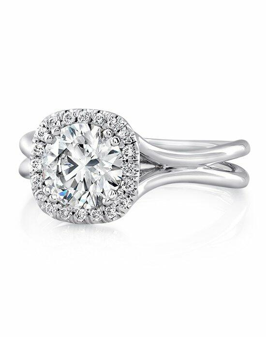 Uneek Fine Jewelry LVS949-6.5RD Engagement Ring photo