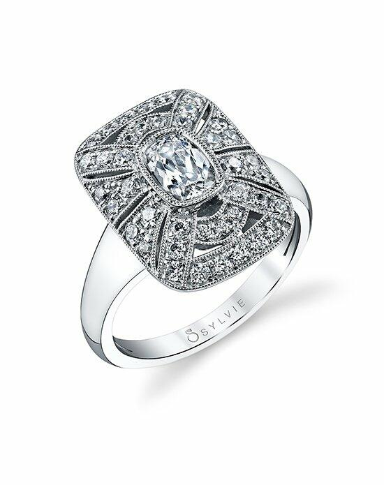 Sylvie Collection S1228 Engagement Ring photo
