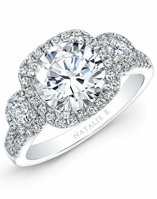 Natalie K Eternelle Collection - NK28365-18W Engagement Ring photo