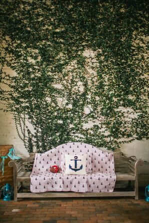 Lounge Furniture with Anchor Pillow
