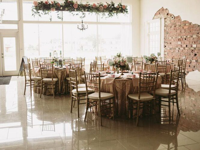 Wedding venue in Littlefield, Texas.