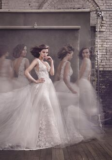 Lazaro 3656 Ball Gown Wedding Dress