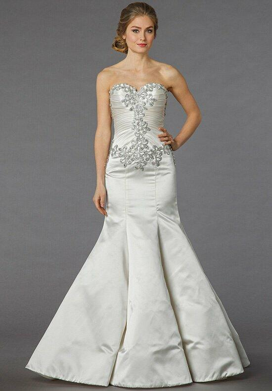 Pnina tornai for kleinfeld 4252 wedding dress the knot for Kleinfeld mermaid wedding dresses