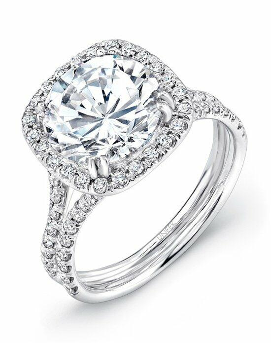 Uneek Fine Jewelry LVS852 Engagement Ring photo