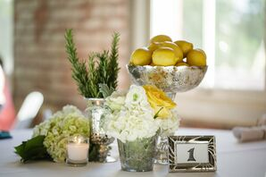 Eclectic Rustic Chic Centerpieces
