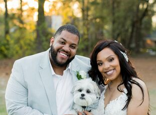 Like thousands of other couples, Alisha and Stephen were forced to reimagine their nuptials in light of the COVID-19 pandemic. In the end, they settle