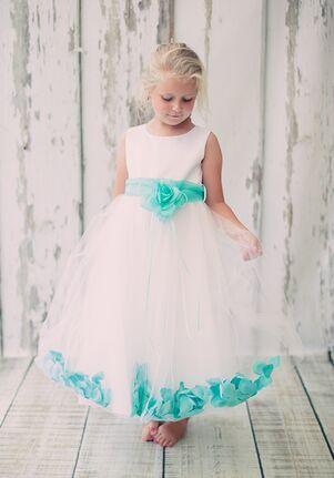 Kid's Dream 160B-SASH Black,Brown,Gray,Green,Gold,Purple,Orange,Silver,Yellow,White,Red,Blue,Champagne,Ivory,Pink Flower Girl Dress