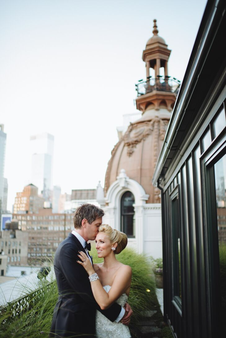 Whitney Pizale (29 and a bridal accessory designer) and Ryan Dzierniejko (36 and a lawyer) pulled off an intimate affair at the NoMad Hotel for their