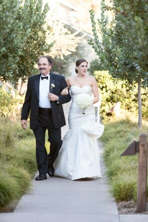 Father of the Bride in Processional