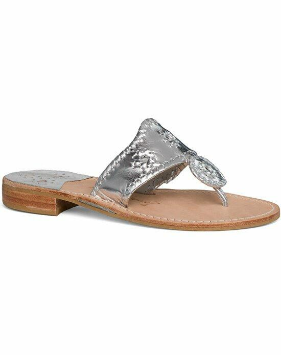 Jack Rogers Classic Sandal-silver Wedding Shoes photo