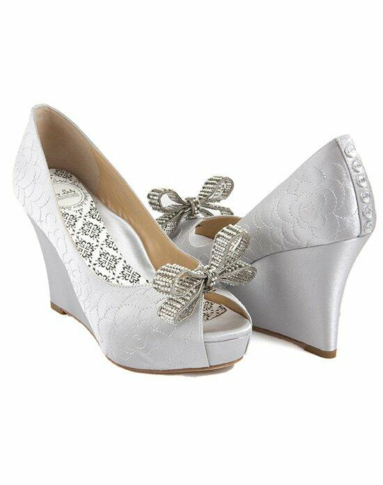 Hey Lady Shoes Lady Buttons garden wedge/little pearl bow Wedding Shoes photo