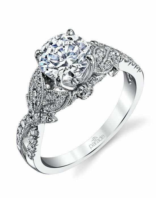 Parade Design Style R3325 from the Lyria Bridal Collection Engagement Ring photo