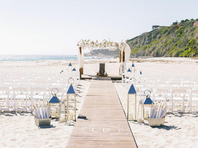 Beachfront venue