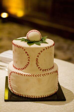 Baseball Groom's Cake