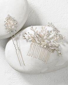 To Have & To Borrow Annalise Silver Headband