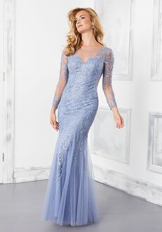 MGNY 72301 Blue,Purple Mother Of The Bride Dress
