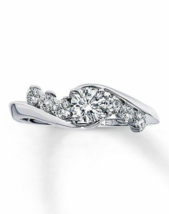 The Leo Diamond Diamond Engagement Ring 3/4 ct tw Round-Cut 14K White Gold-990510303 Engagement Ring photo