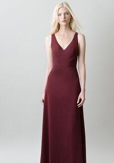 Jenny Yoo Collection (Maids) Delaney #1711 V-Neck Bridesmaid Dress