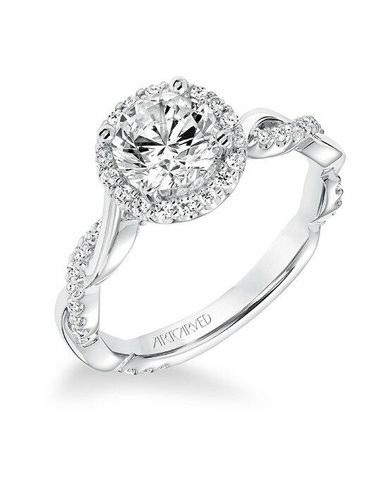 ArtCarved 31-V657ERW-E Engagement Ring photo