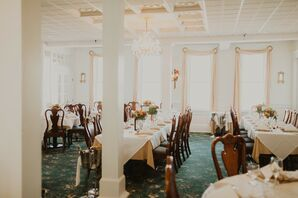 Wedding Reception at the Union Park Dining Room in Cape May, New Jersey