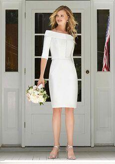 The Other White Dress Blanche Sheath Wedding Dress